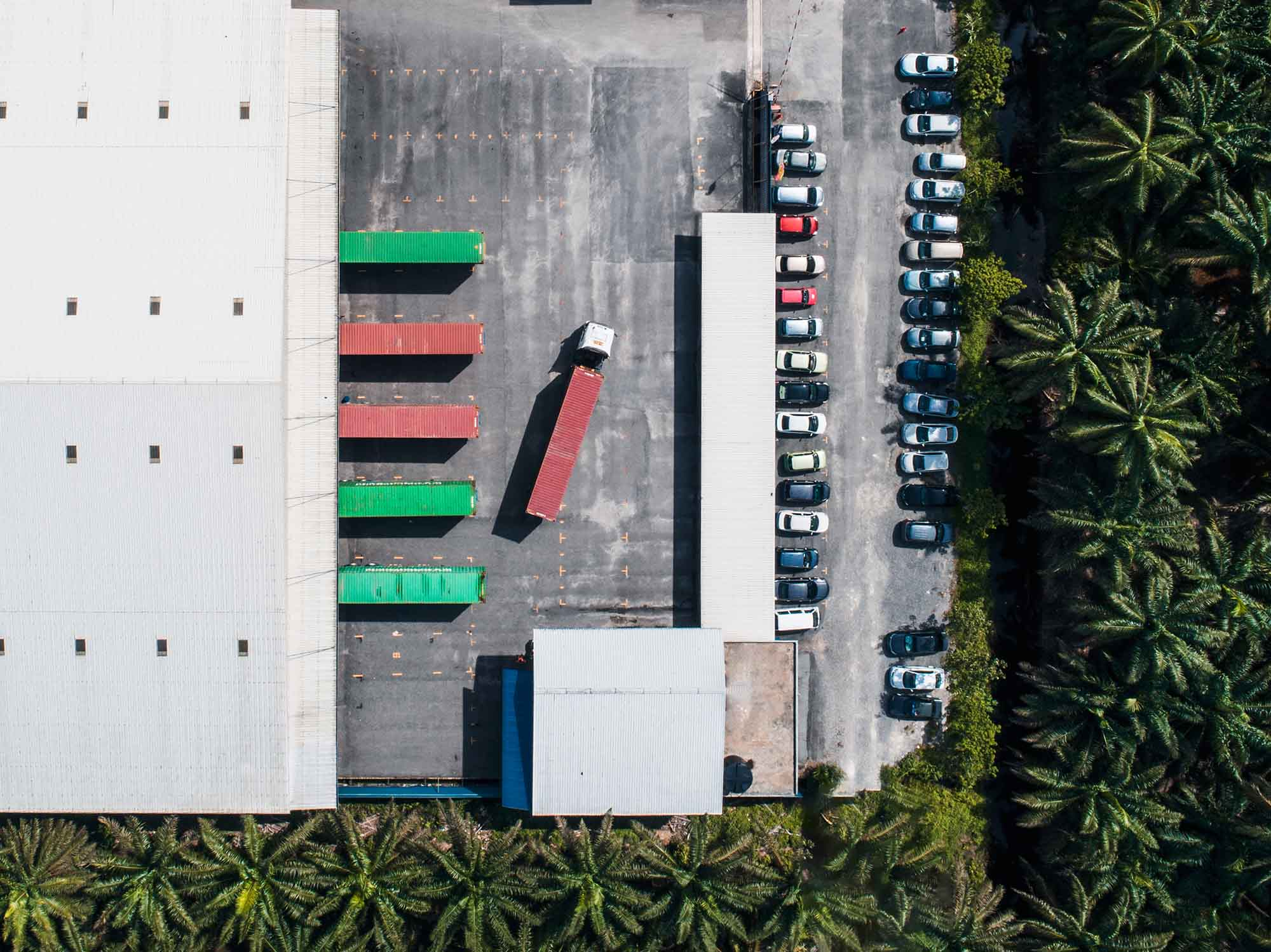 Factory Aerial Photography