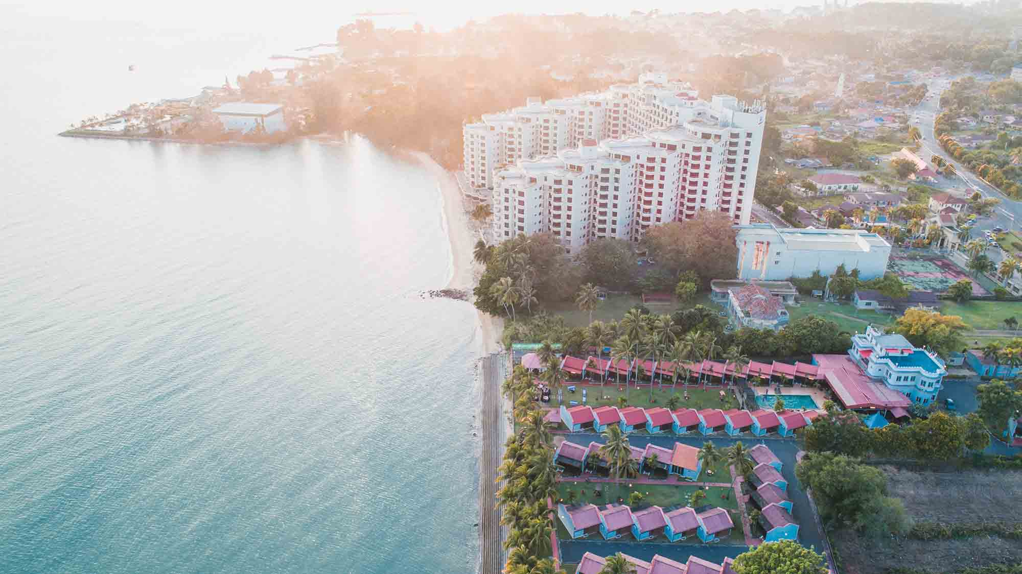 Hotel Aerial Photography