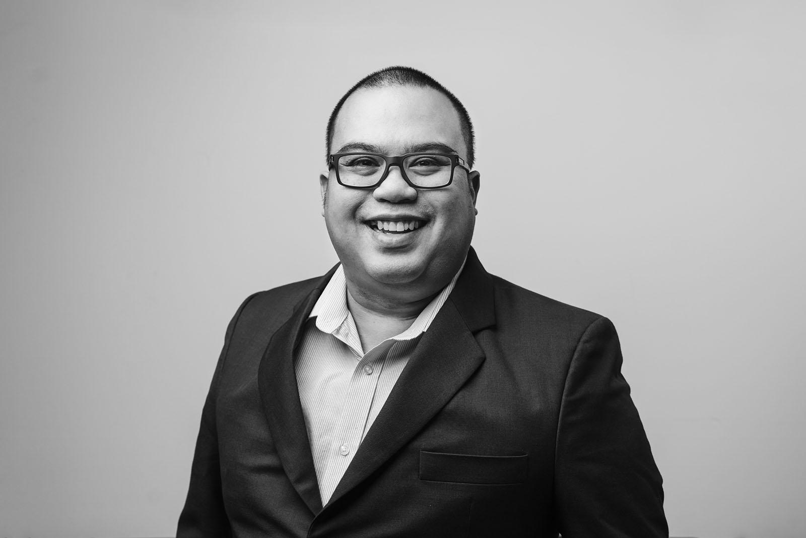Corporate Portrait - Black and White